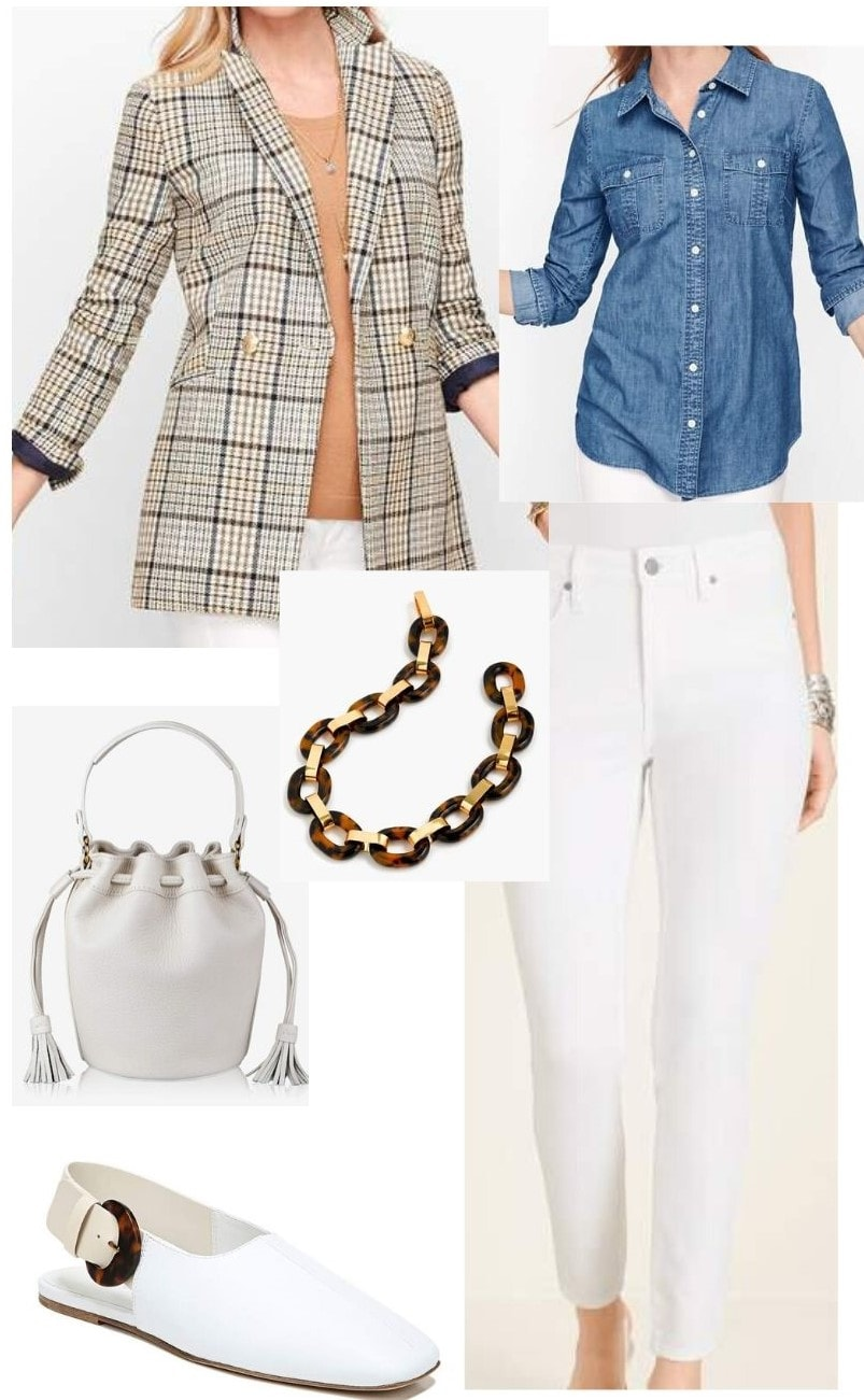 casual spring outfit with spring trends 2020