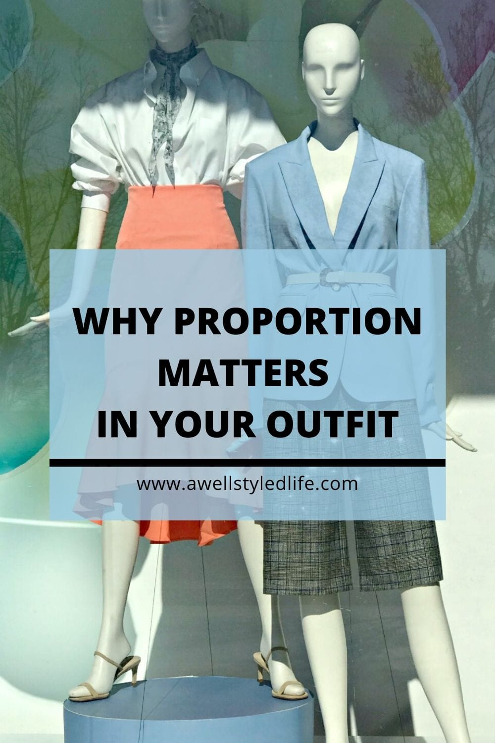 why skirt, jacket and shirt proportion matters