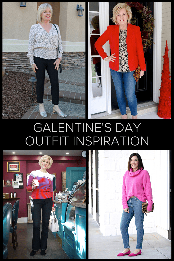 over 40 galentine's outfit inspiration