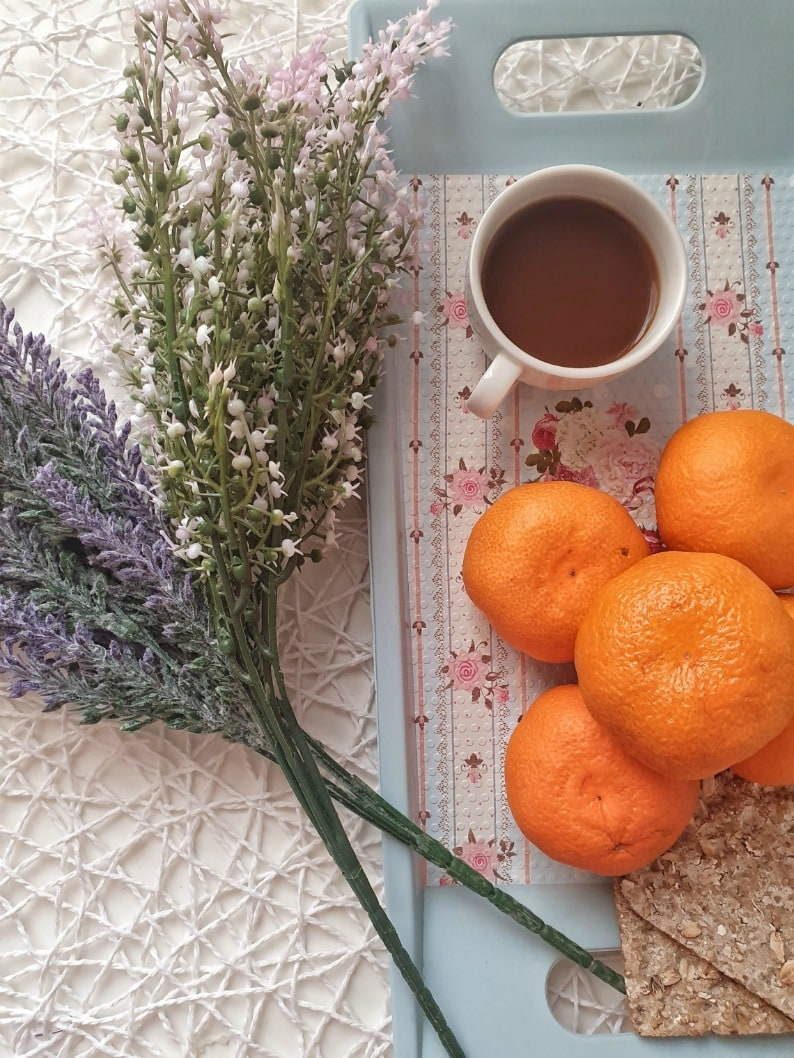 Monday Musings- Orange and Glass
