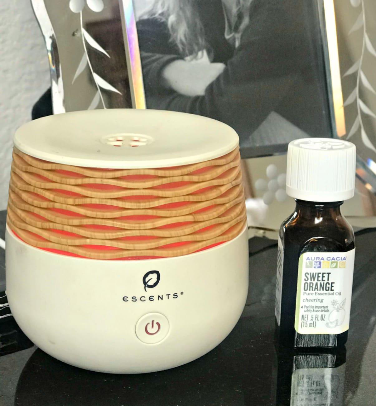 aura acaia sweet orange oil