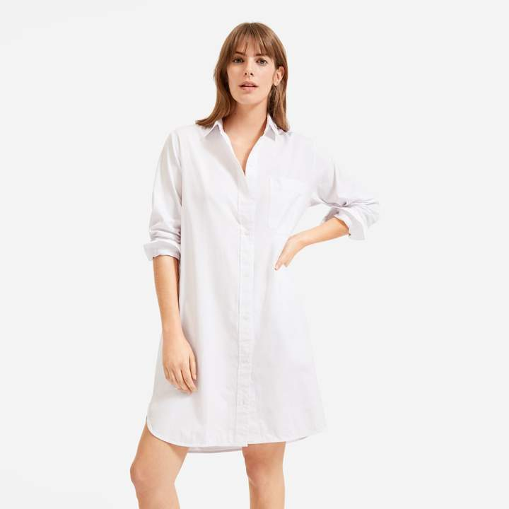 everlane shirtdress
