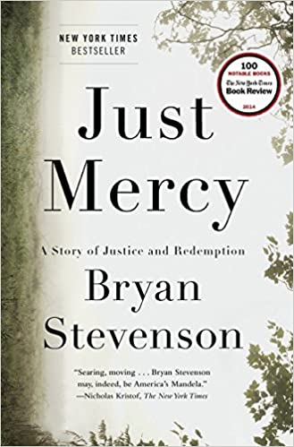cover of just mercy book