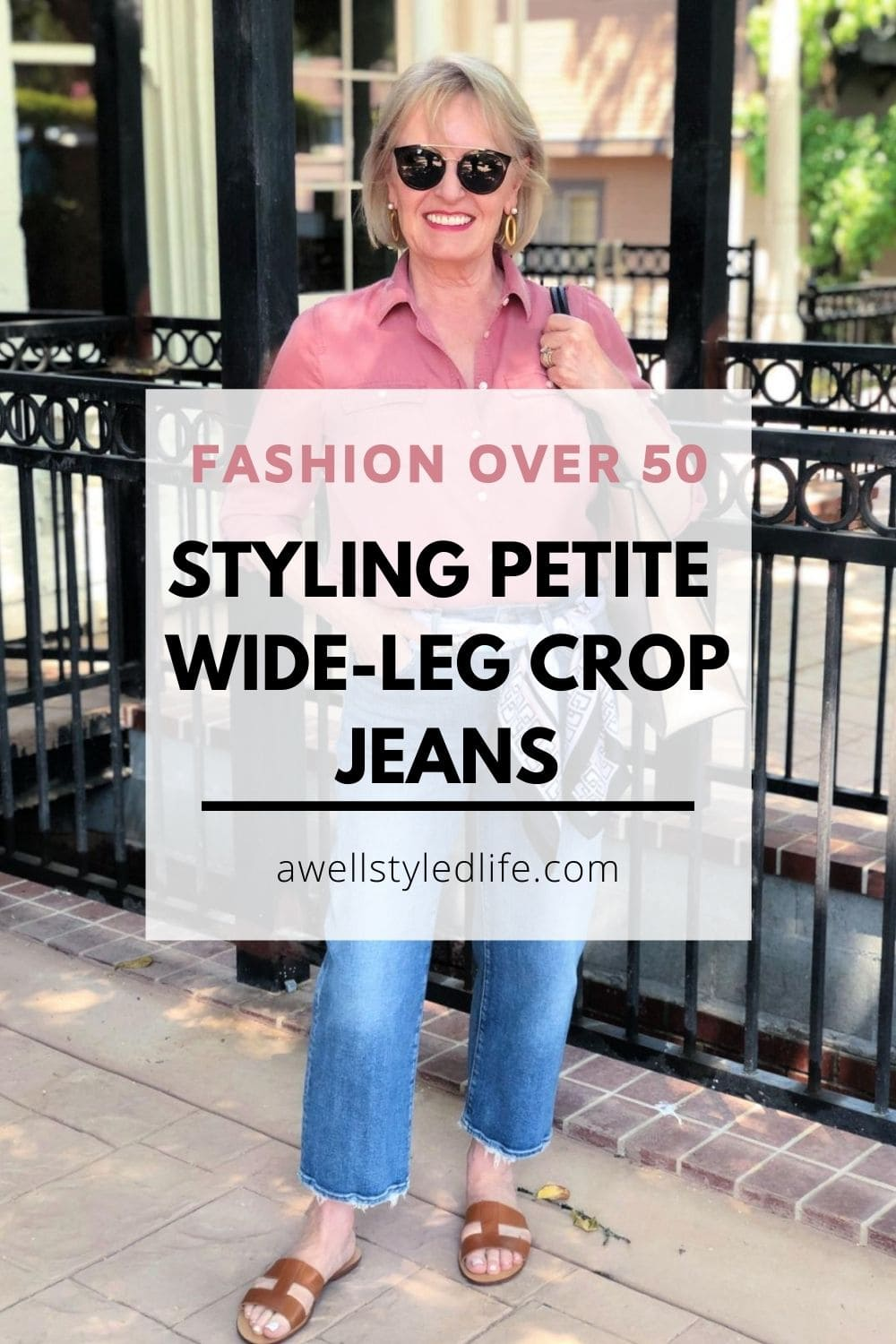 Styling Petite Crop Jeans