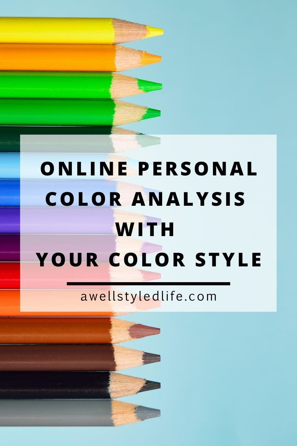 online personal color analysis with your color style