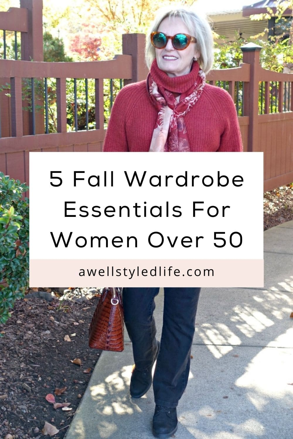 5 Fall Wardrobe Essentials for Women Over 50