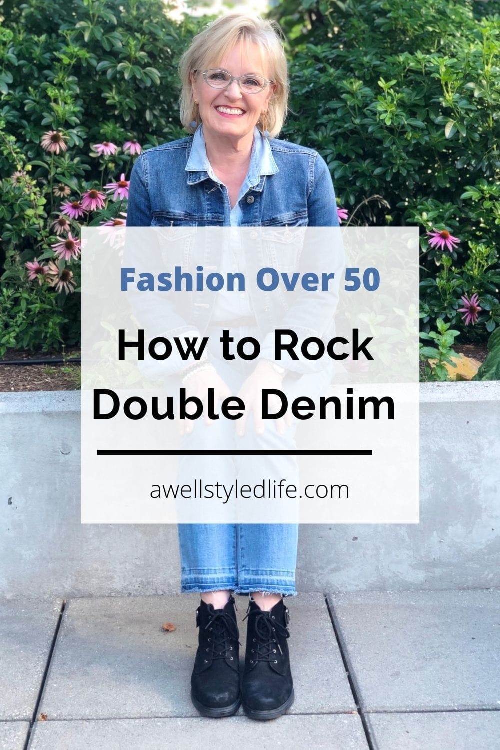 A Casual Double Denim Outfit and a Winner