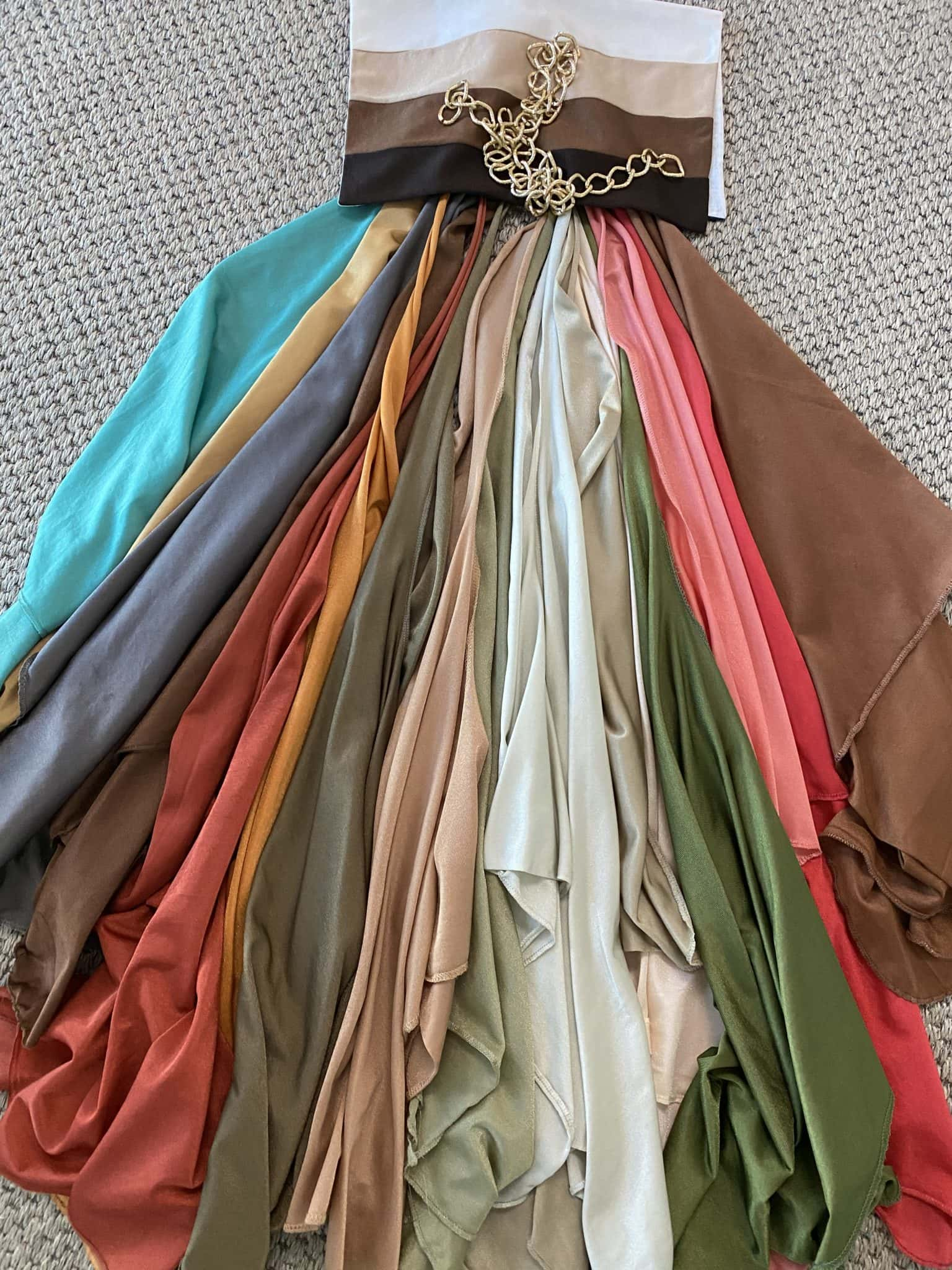 soft autumn colors for Jennifer Connolly