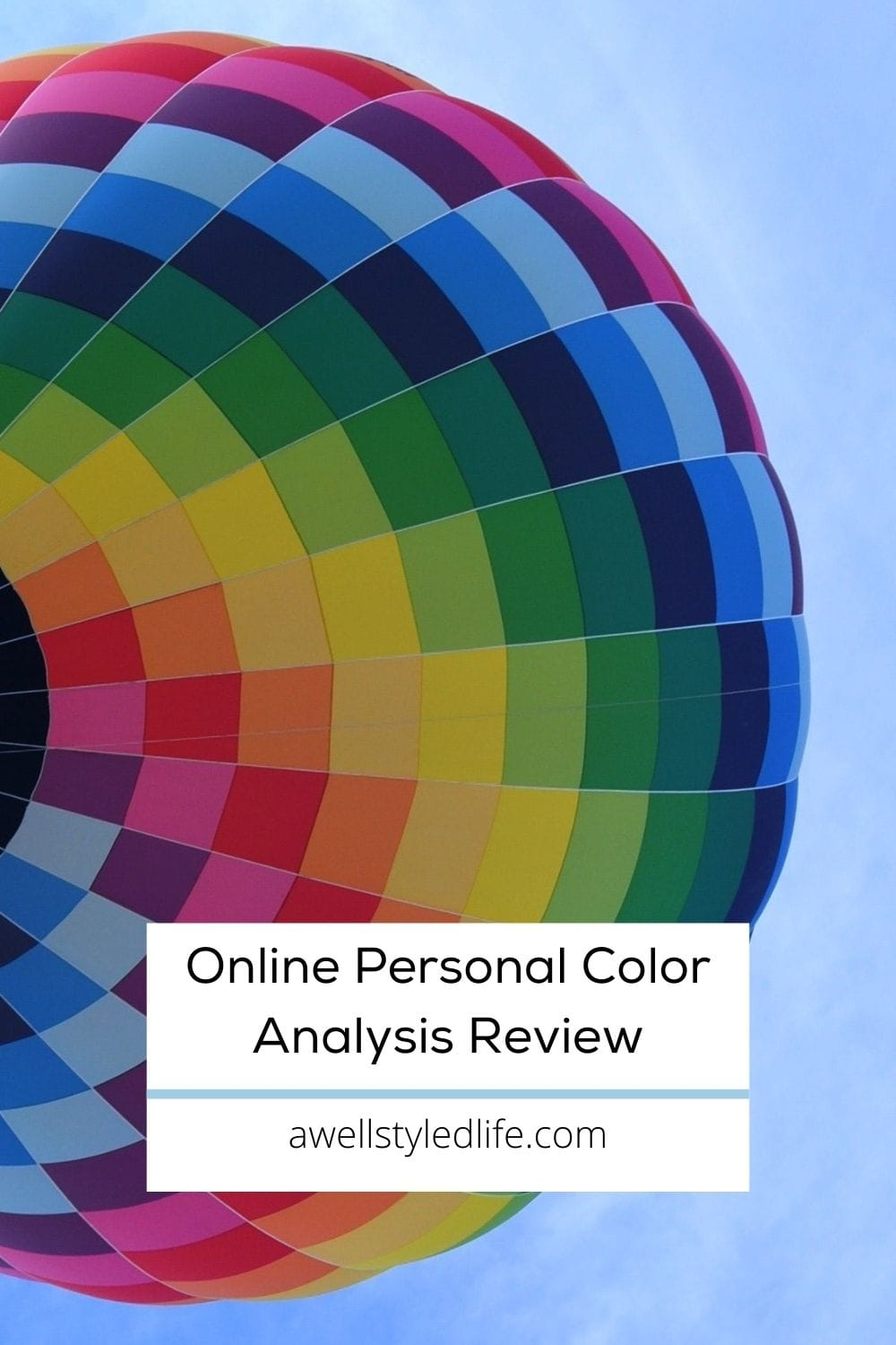 review of virtual personal color analysis