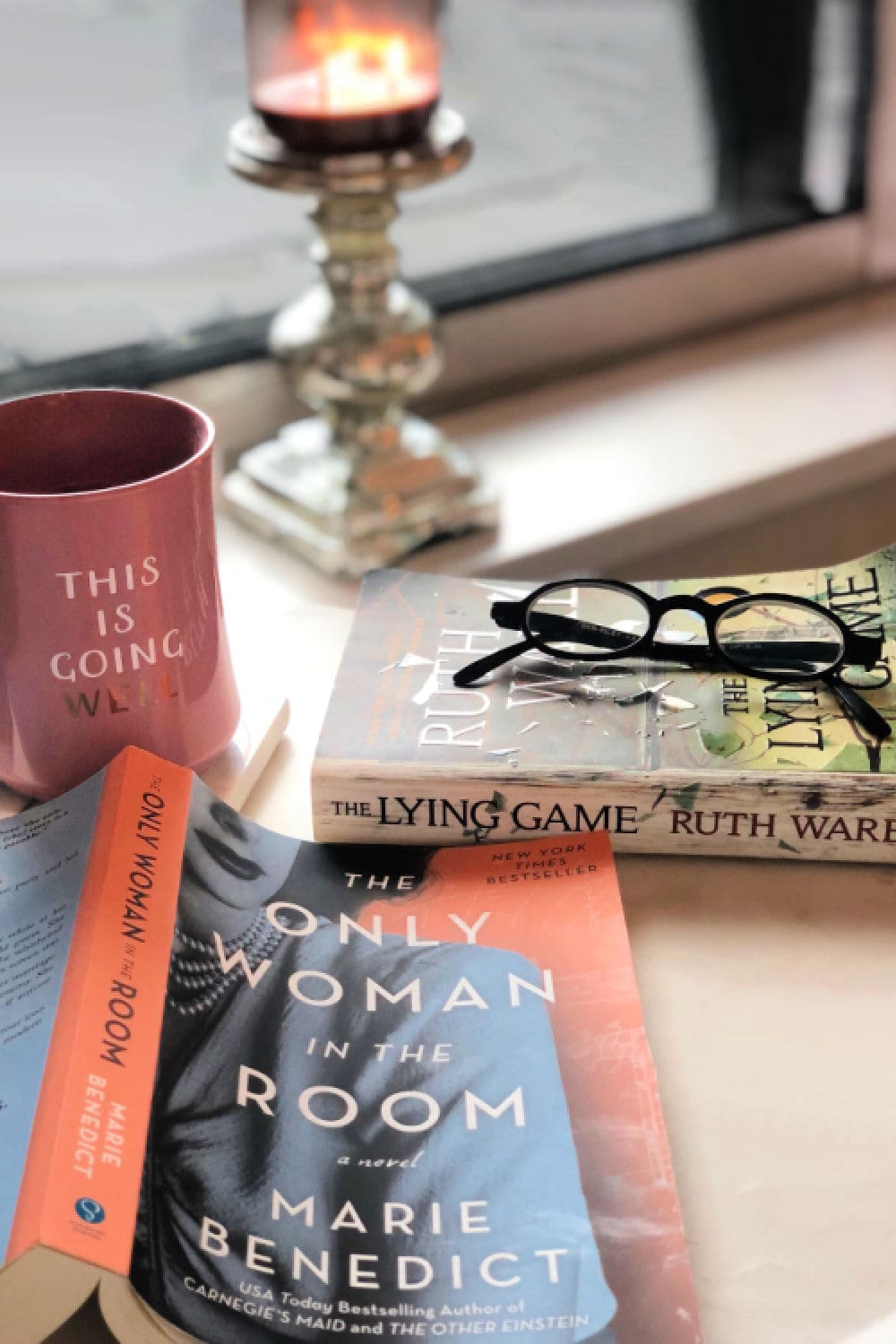 The Olny Woman In The Room Book and mug