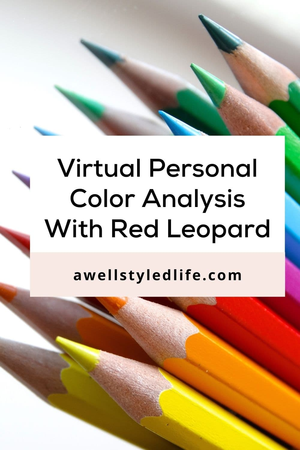 Online Personal Color Analysis With Red Leopard