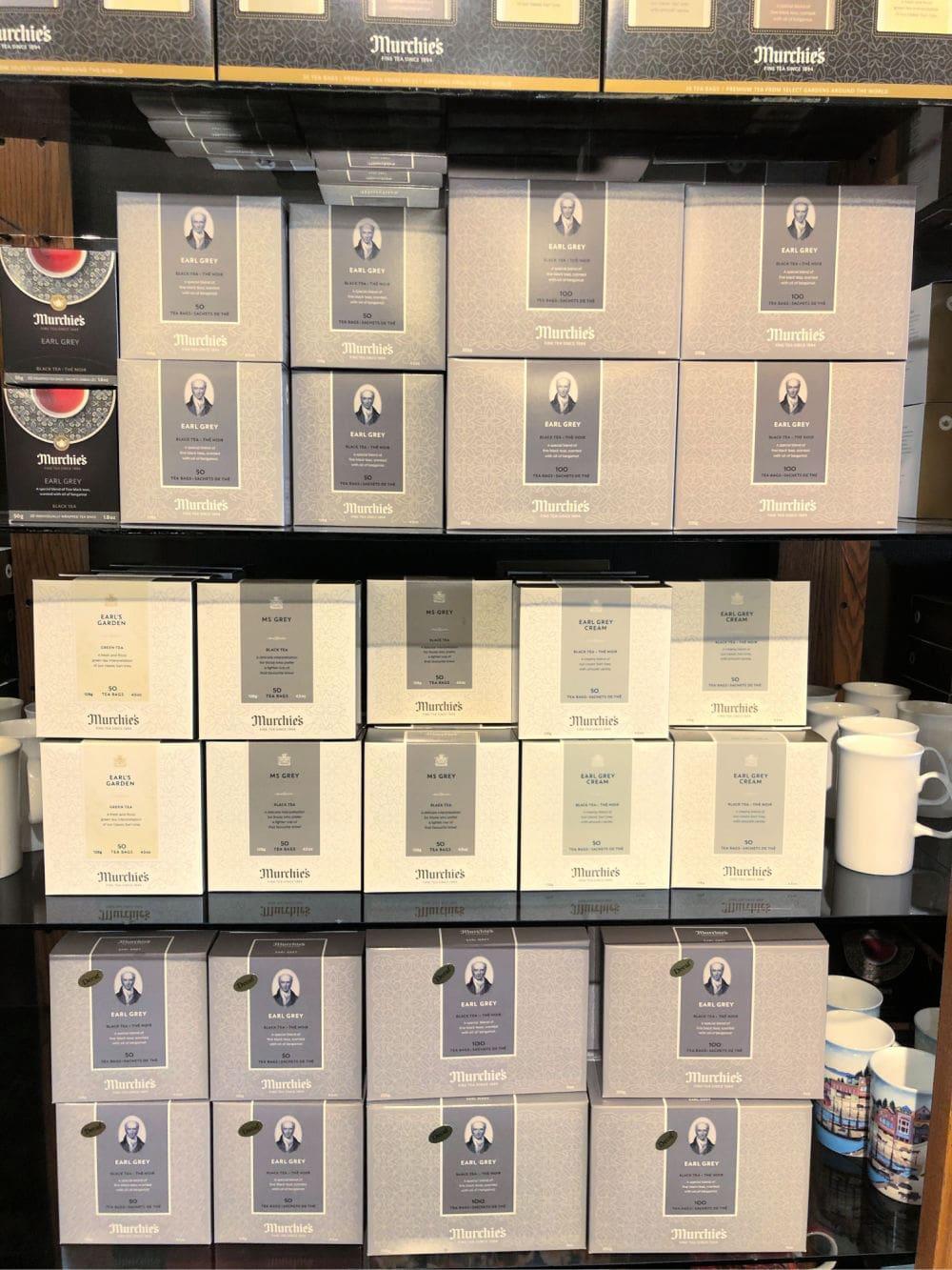 earl grey cream tea boxes