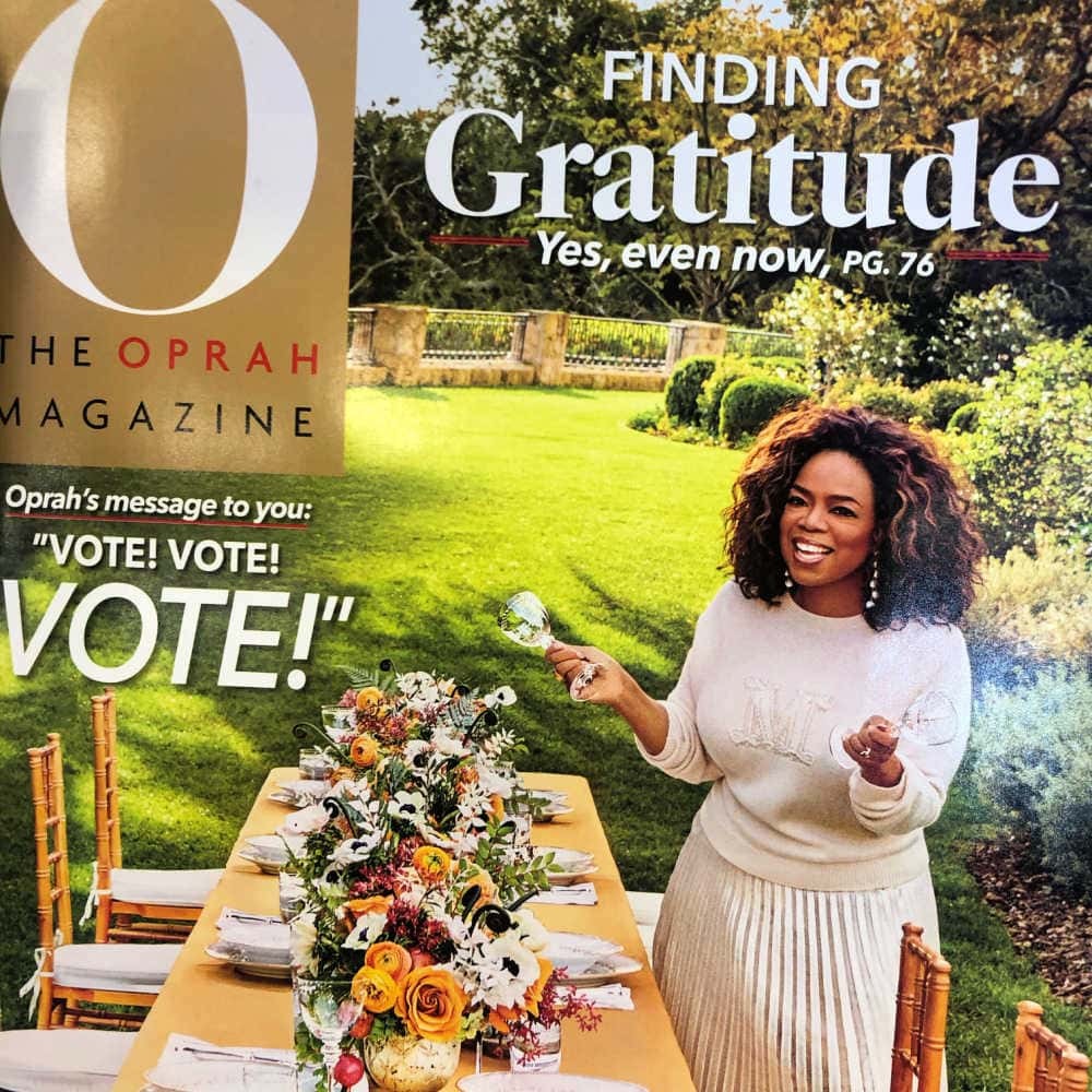 oprah on cover of her magazine