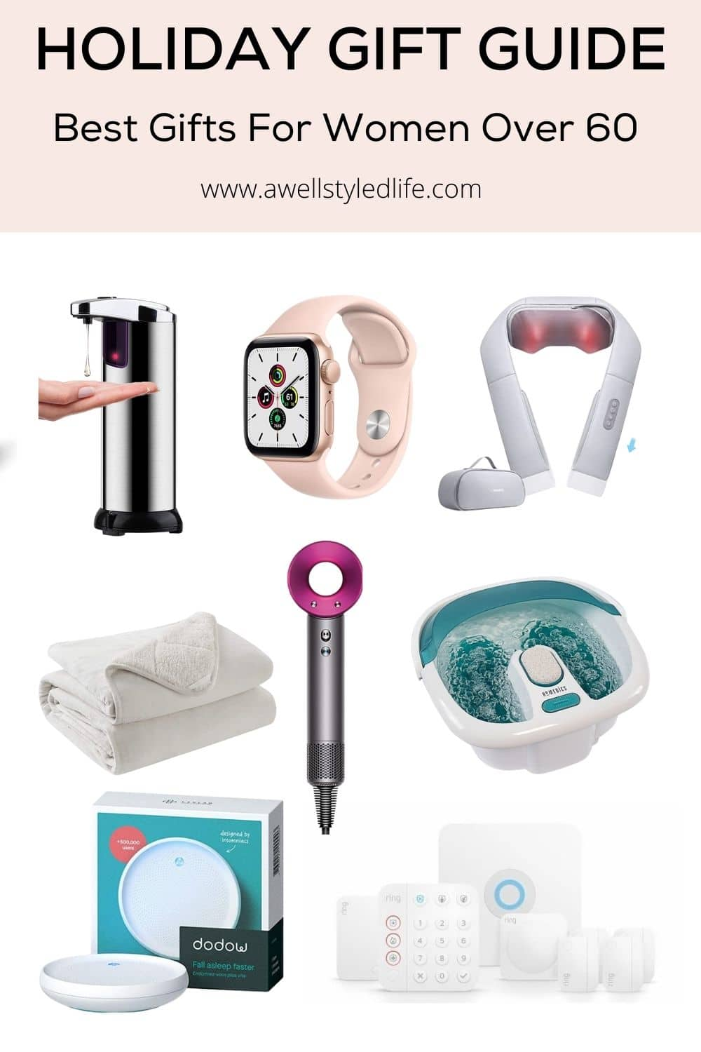 Holiday Gift Guide – Best Gifts For Women Over 60