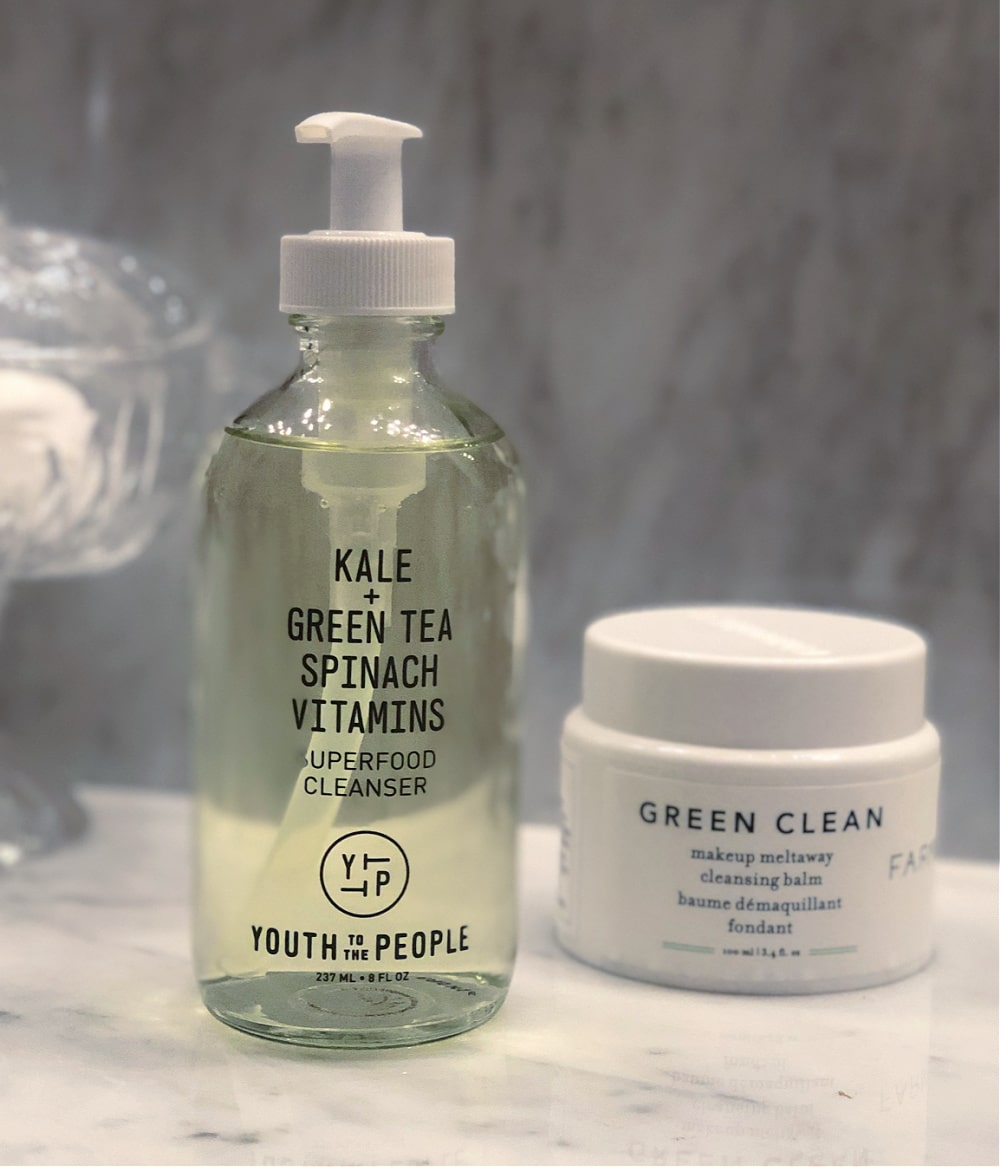 cruelty-free face cleansers to use for double cleansing