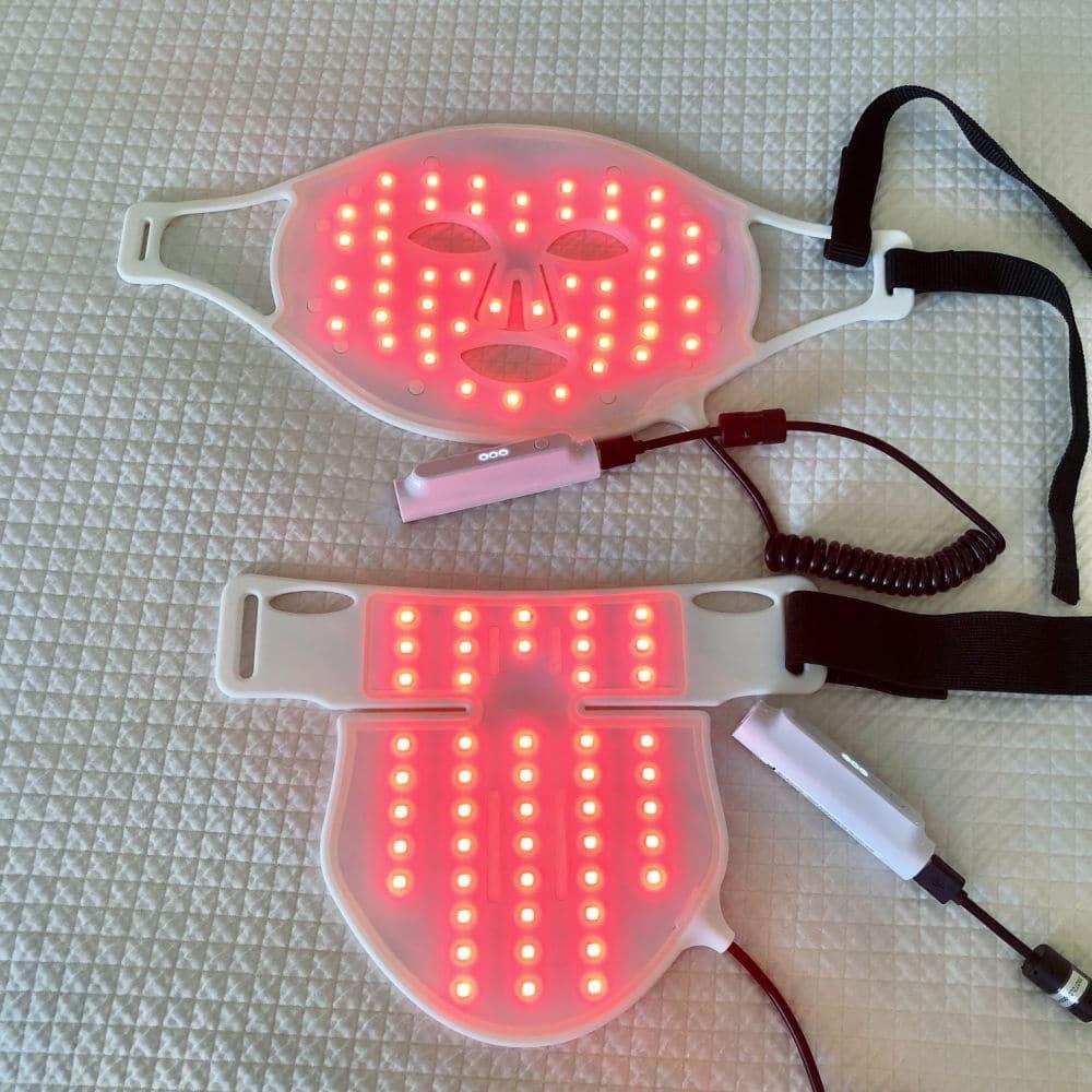 the light salon LED red light mask