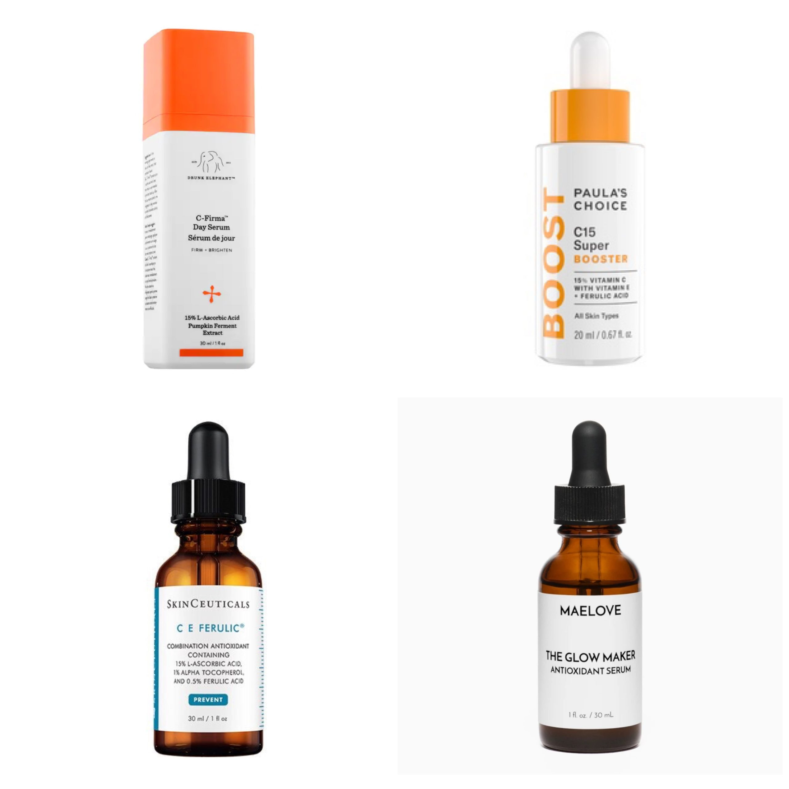 4 types of vitamn c serum