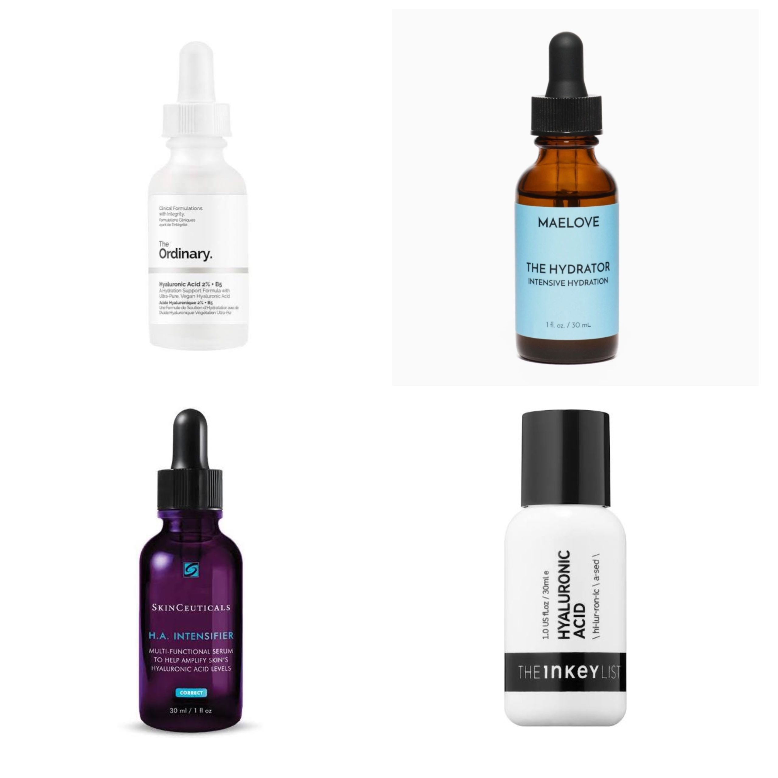 4 TYPES OF HYLAURONIC ACID to use on over 50 skin