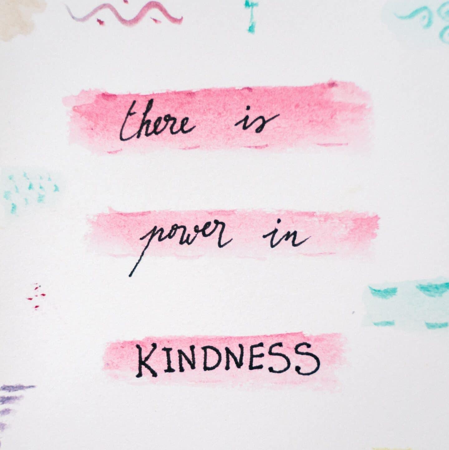 Monday Musings- Kindness Matters
