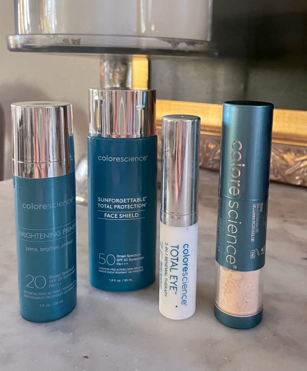 colorscience physical sunscreen for mature faces