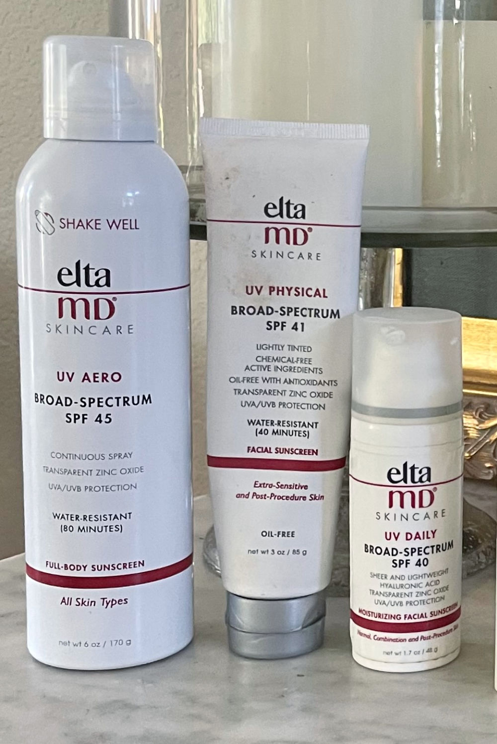 elta md chemical sunscreens