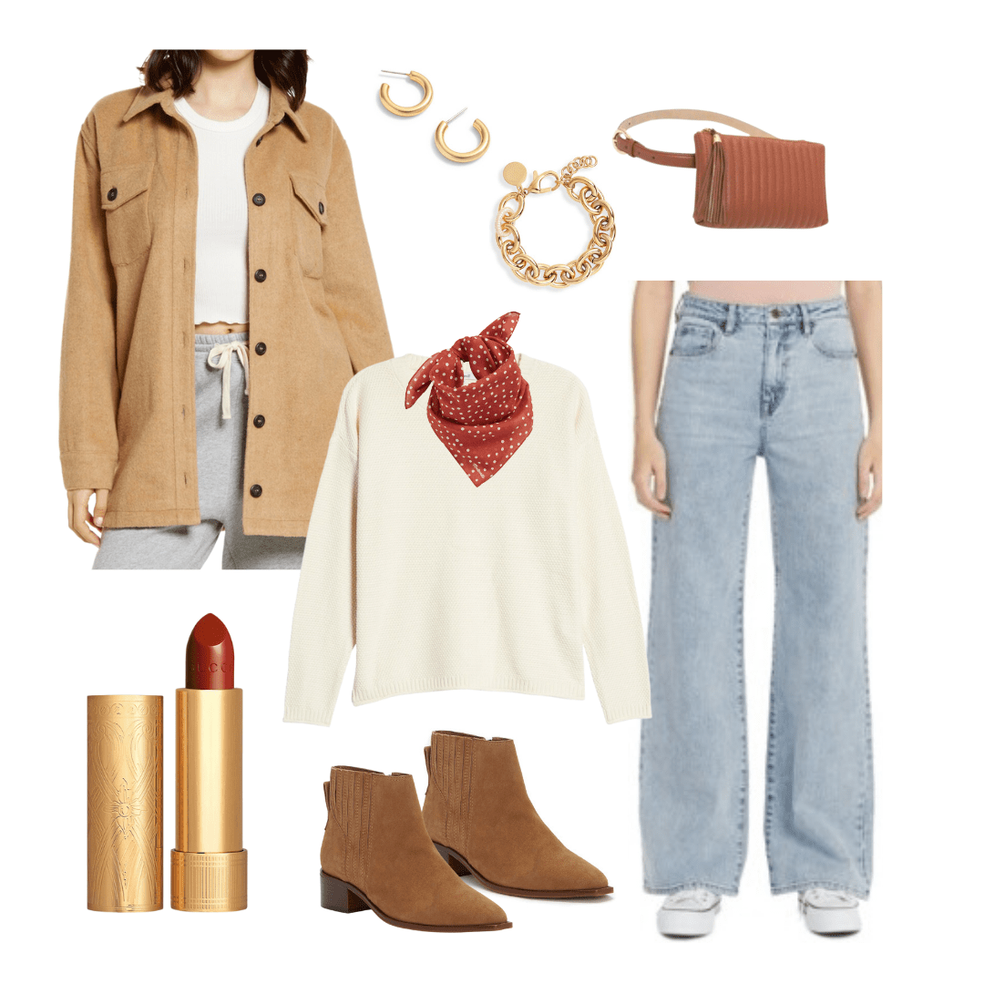 shacket outfit