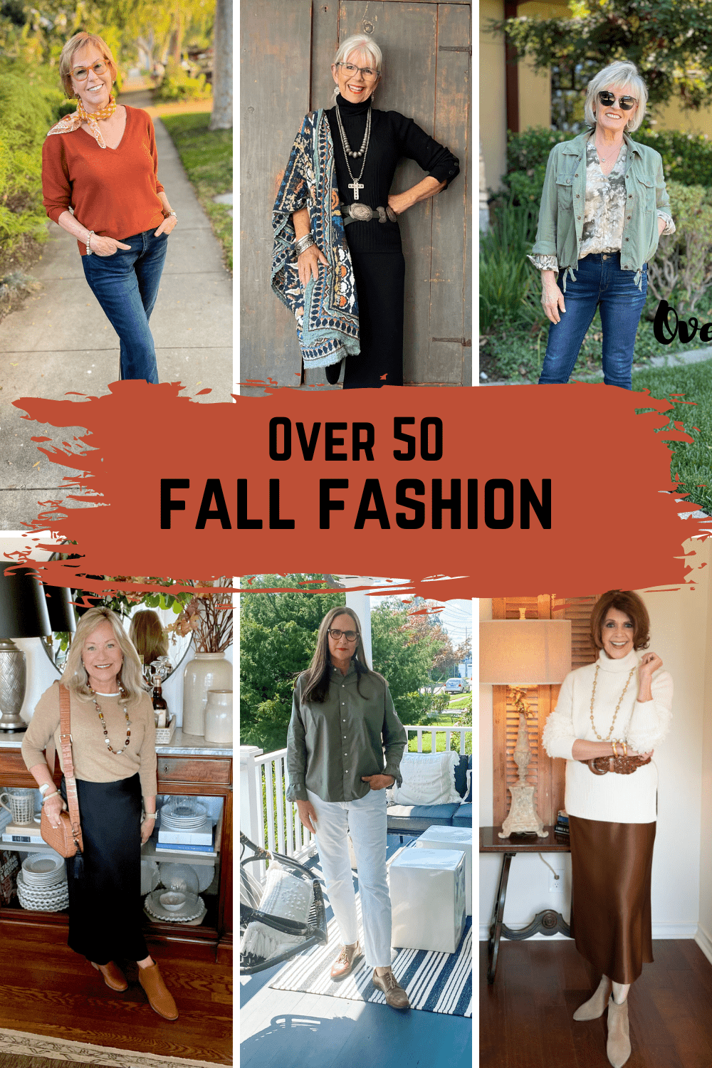 how to wear fall trends over 50