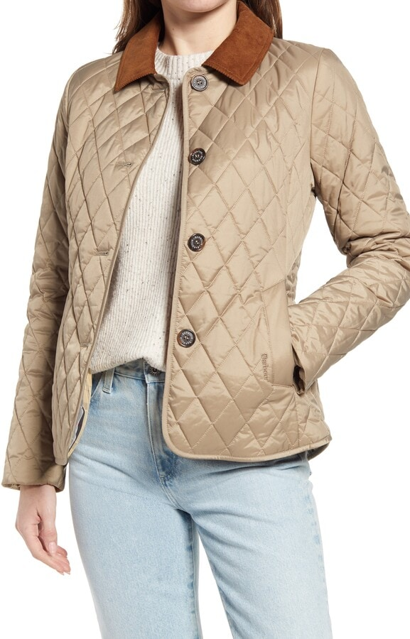 quilted jacket for fall